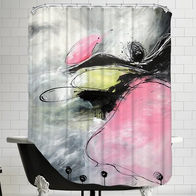 Motus Et Bouche Cousue Shower Curtain