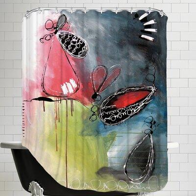 Motus 5 Shower Curtain