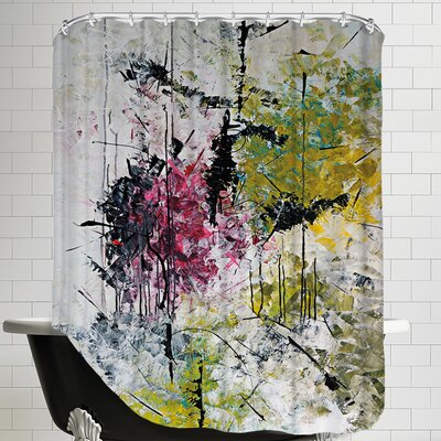 Magn Tik De La Foret Enchante Shower Curtain