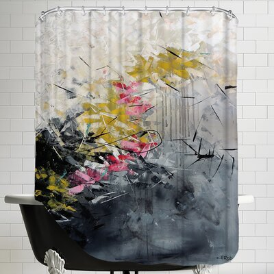 Magn Tik 1 Shower Curtain