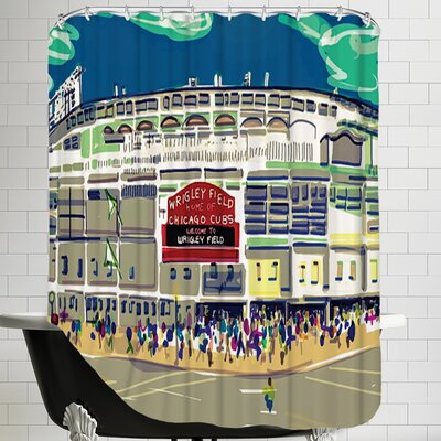 Wrigley Ext Shower Curtain