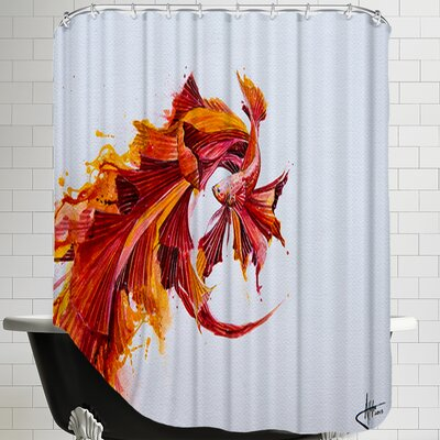 Ignite Print (c) Marc Allante Shower Curtain