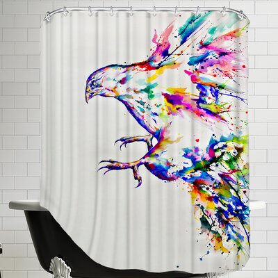 Descent Shower Curtain