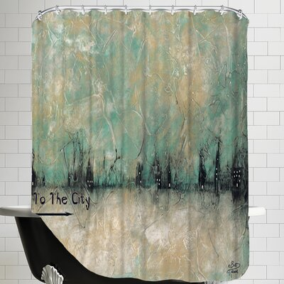 To the City Shower Curtain