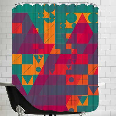Twyxt Flyt2 Shower Curtain