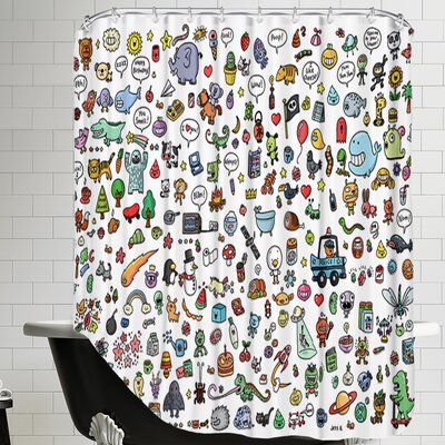 Funny Sayings Shower Curtain