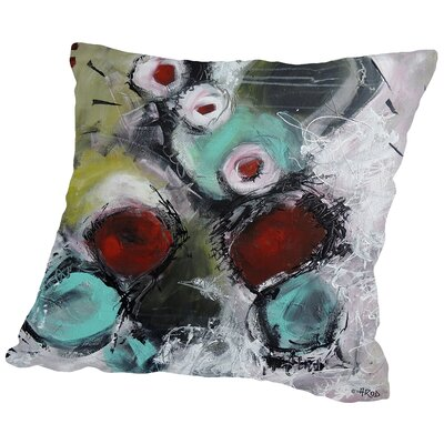 Eruptus 3413 Throw Pillow Size: 16 H x 16 W x 2 D