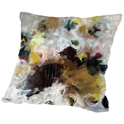 Eruptus, Cactus Et Ananas Throw Pillow Size: 16 H x 16 W x 2 D
