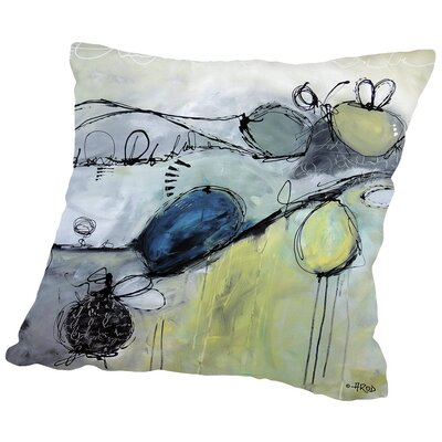 Motus 101 Throw Pillow Size: 14 H x 14 W x 2 D