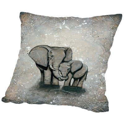 My Love for You POD Throw Pillow Size: 16 H x 16 W x 2 D