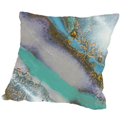 Marble A Throw Pillow Size: 16 H x 16 W x 2 D