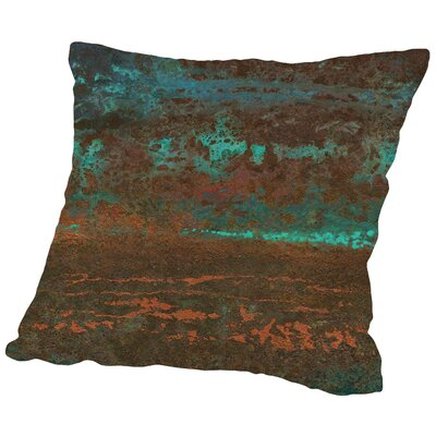 Lava Haze Throw Pillow Size: 14 H x 14 W x 2 D
