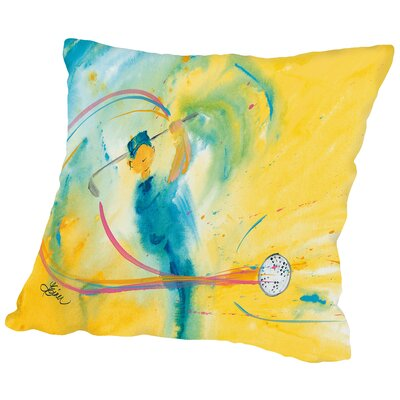 Fore Throw Pillow Size: 14
