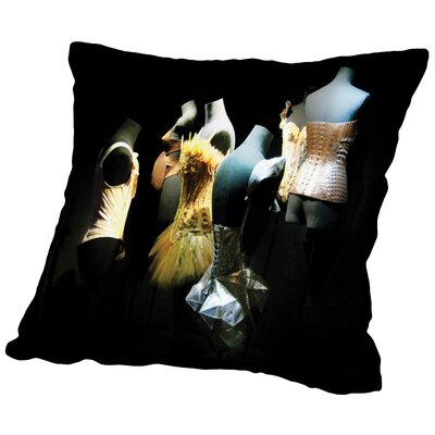 Two Silk Corsets Throw Pillow Size: 16