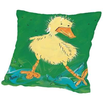 Duckling I Throw Pillow Size: 14 H x 14 W x 2 D