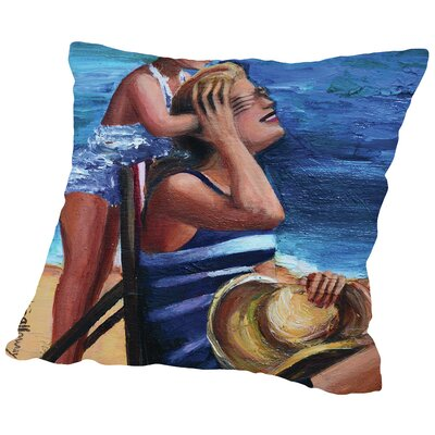 Peek a Boo Throw Pillow Size: 14 H x 14 W x 2 D
