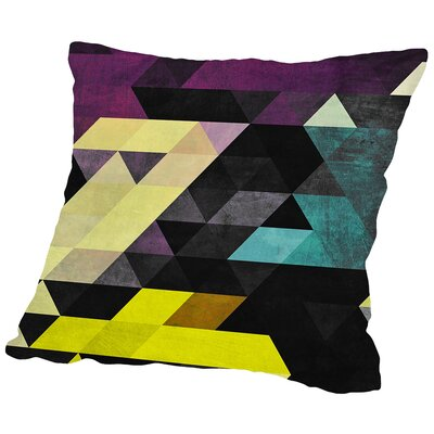 Scrytch Tyst Throw Pillow Size: 16 H x 16 W x 2 D