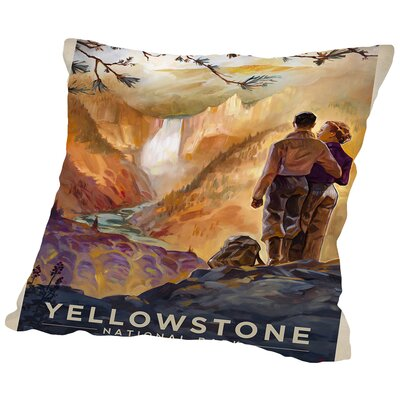 KC NP Stone2 Throw Pillow Size: 16 H x 16 W x 2 D