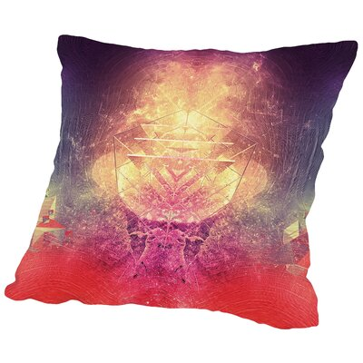 Shryyn Yf Lyys Throw Pillow Size: 16 H x 16 W x 2 D