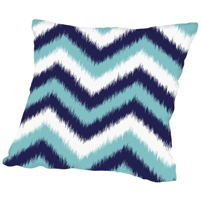 Chevron Throw Pillow Size: 16