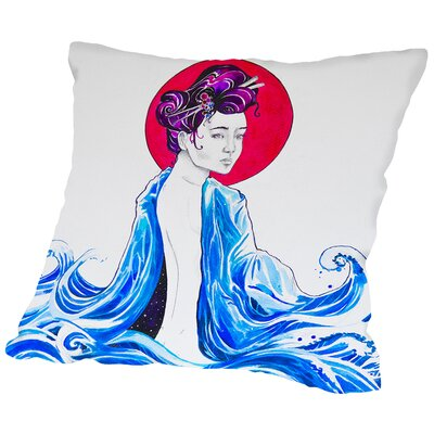 Yume (c) Marc Allante x Jacq Throw Pillow Size: 18 H x 18 W x 2 D