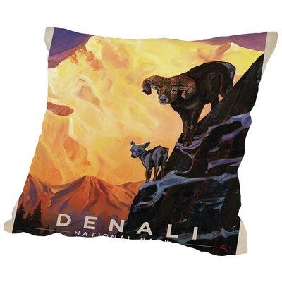 KC NP Denali Throw Pillow Size: 20 H x 20 W x 2 D