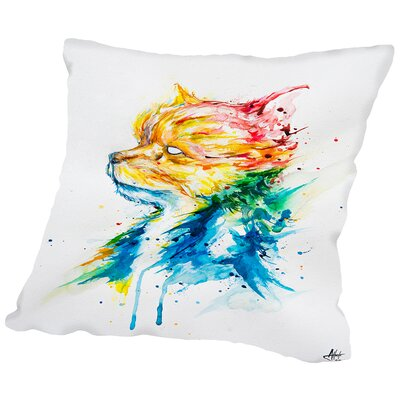 Regal Throw Pillow Size: 18 H x 18 W x 2 D