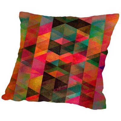 Symmyr Bryyzz Throw Pillow Size: 14 H x 14 W x 2 D
