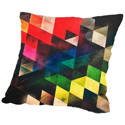 Lwwsyng Cylyr Throw Pillow Size: 18 H x 18 W x 2 D
