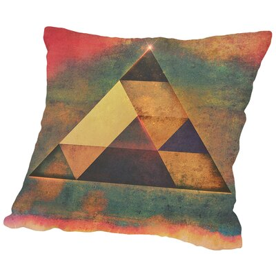 Try 9 Throw Pillow Size: 16 H x 16 W x 2 D