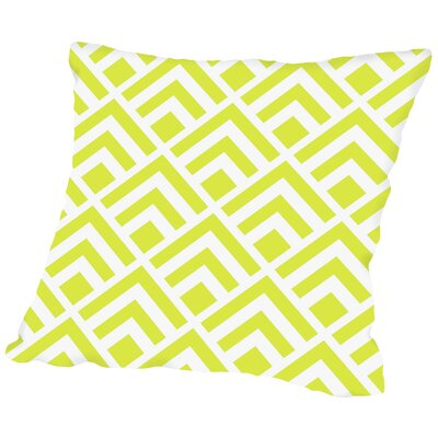 Geometric Throw Pillow Size: 14 H x 14 W x 2 D