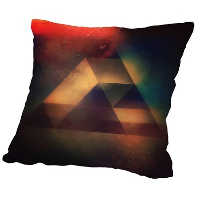 Try 6 Throw Pillow Size: 16 H x 16 W x 2 D