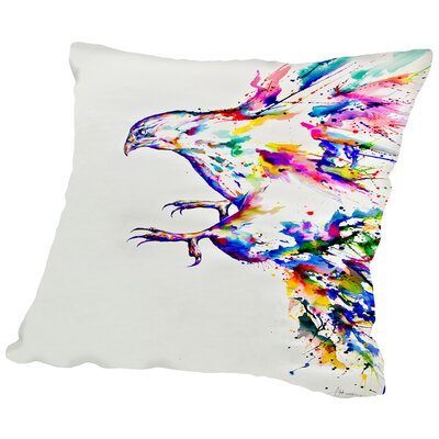 Descent Throw Pillow Size: 16 H x 16 W x 2 D