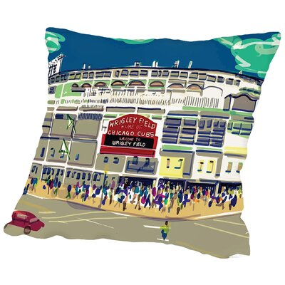 Wrigley Ext Throw Pillow Size: 14 H x 14 W x 2 D