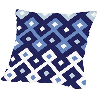 Diamond Throw Pillow Size: 14 H x 14 W x 2 D