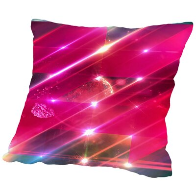 Glwwgymm Throw Pillow Size: 14 H x 14 W x 2 D