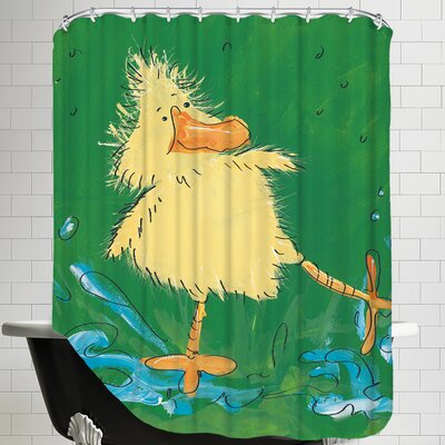 Duckling Iv Shower Curtain