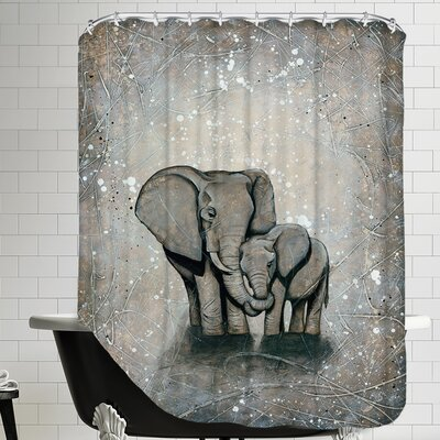 My Love for You POD 12x16 Shower Curtain