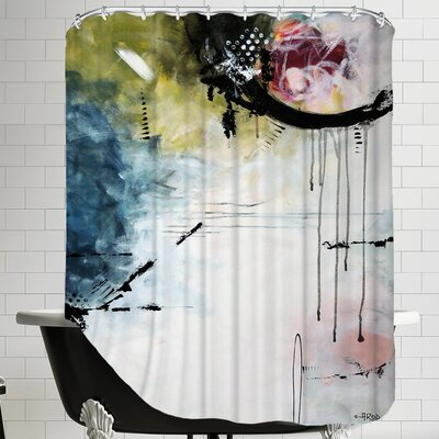 Crazy 13 Shower Curtain