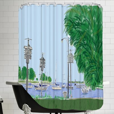 Montrose 3 Shower Curtain