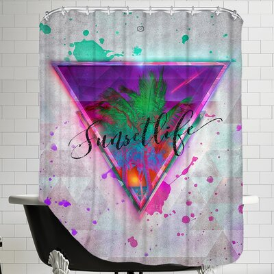 Sunsetlife Shower Curtain