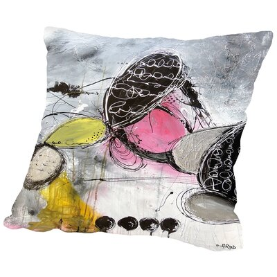 Motus 1 Throw Pillow Size: 18 H x 18 W x 2 D