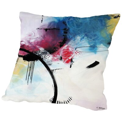 Crazy 11 Throw Pillow Size: 18 H x 18 W x 2 D