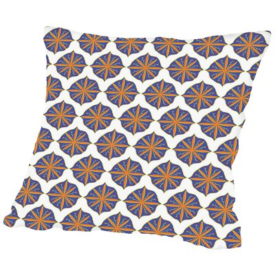 SpanishMotif CaraKozik Throw Pillow Size: 18 H x 18 W x 2 D