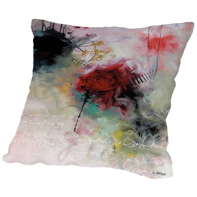 Crazy Floralies Throw Pillow Size: 16 H x 16 W x 2 D