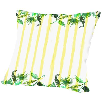 Palmskirt Throw Pillow Size: 18 H x 18 W x 2 D