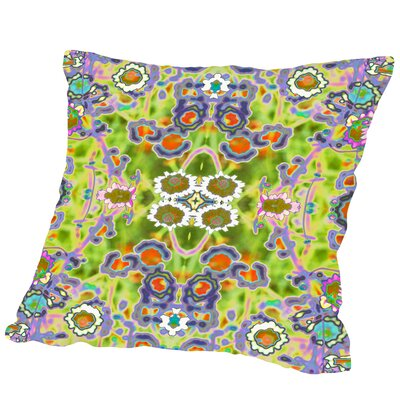 Coreopsis Square Outdoor Throw Pillow Size: 18 H x 18 W x 2 D