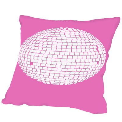 Mirrorball Outdoor Throw Pillow Size: 18 H x 18 W x 2 D