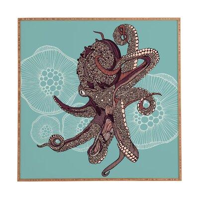 Octopus Bloom by Valentina Ramos Framed Graphic Art EASU7906 34137737