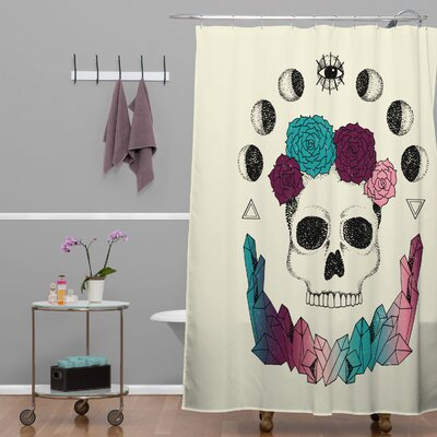 Wesley Bird Live Forever Polyester Shower Curtain